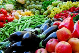 Fresh fruits and vegetables sprayed with pesticides may contribute to serious health issues and food allergy.